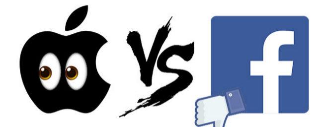 La guerra fría de Apple contra Facebook