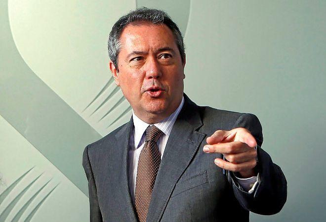 El alcalde de Sevilla, el socialista Juan Espadas.