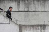 El presidente del Gobierno, Pedro Sánchez, llega ayer a la Ciudad del...