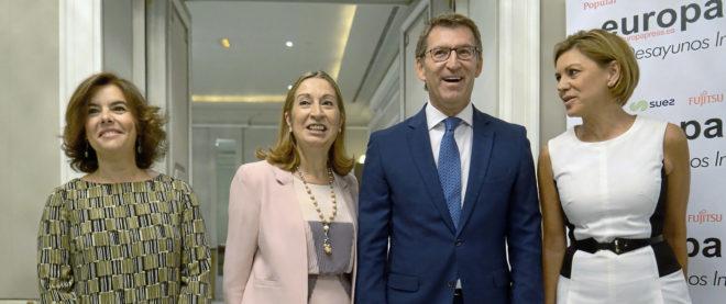 Alberto Núñez Feijóo, el sucesor de Rajoy que más apoyo interno suscita en el PP
