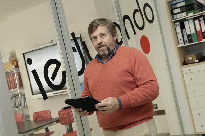 Pedro Díez, fundador y CEO de ieducando.