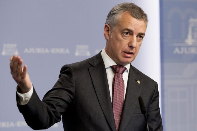 El lehendakari Iñigo Urkullu.