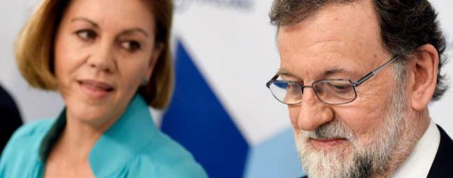 Cospedal no se descarta para liderar el PP tras el adiós de Rajoy
