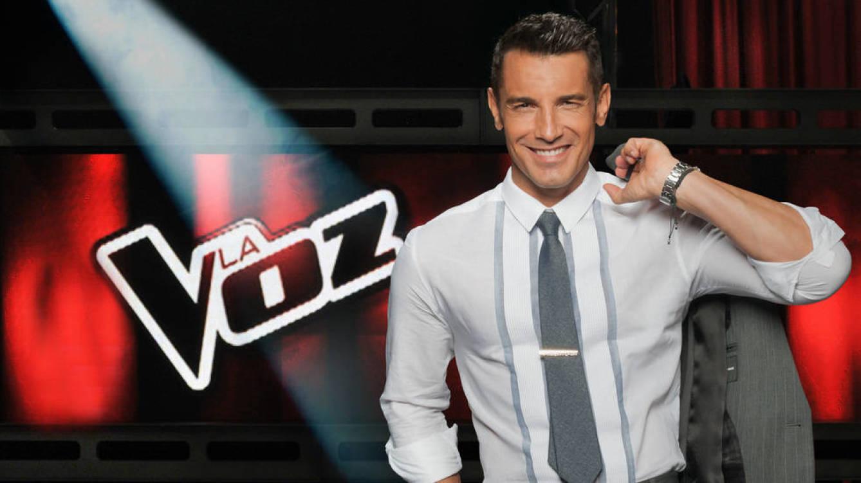 Jesús Vázquez, presentador de 'La voz' en Telecinco.