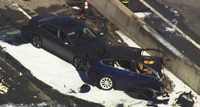 El conductor del accidente de Tesla en marzo, no tenía las manos en el volante