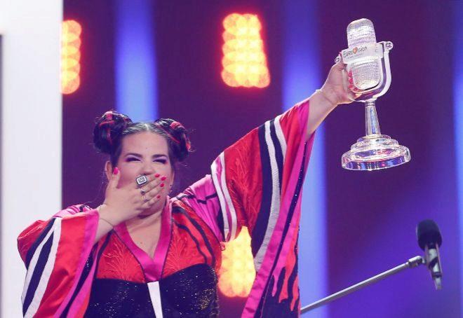 La representante de Israel, Netta Barzilai, ganadora de Eurovisión el pasado mes de mayo