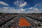 Imagen de la pista Philippe-Chatrier de Roland Garros