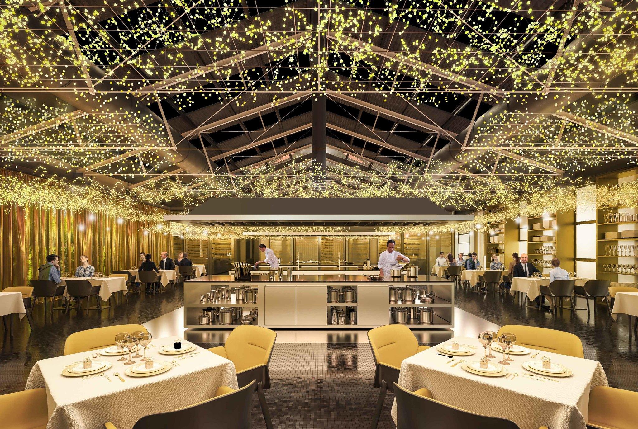 Los hermanos torres abren su nuevo restaurante en una nave - Cocinas barcelona ...