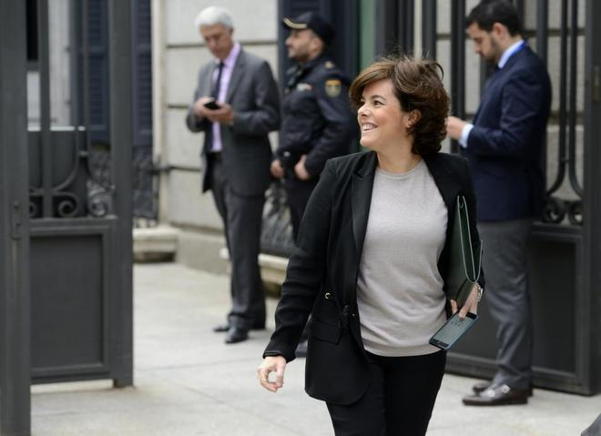 Soraya Sáenz de Santamaría ha sido invitada al Club Bilderberg este fin de semana en Turín,