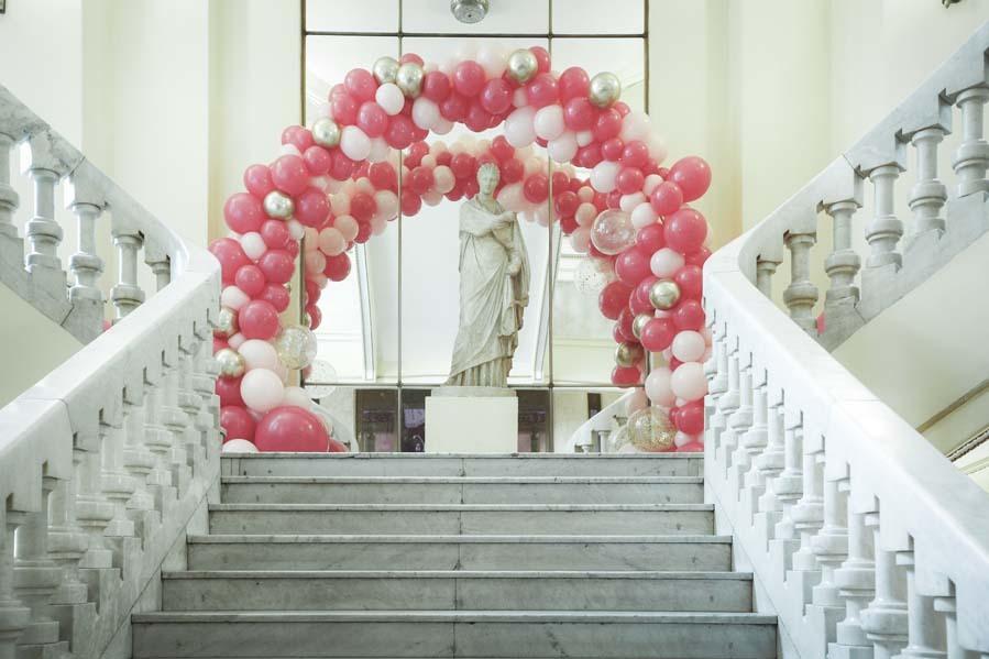 El Círculo de Bellas Artes lucía espectacular con la decoración con...