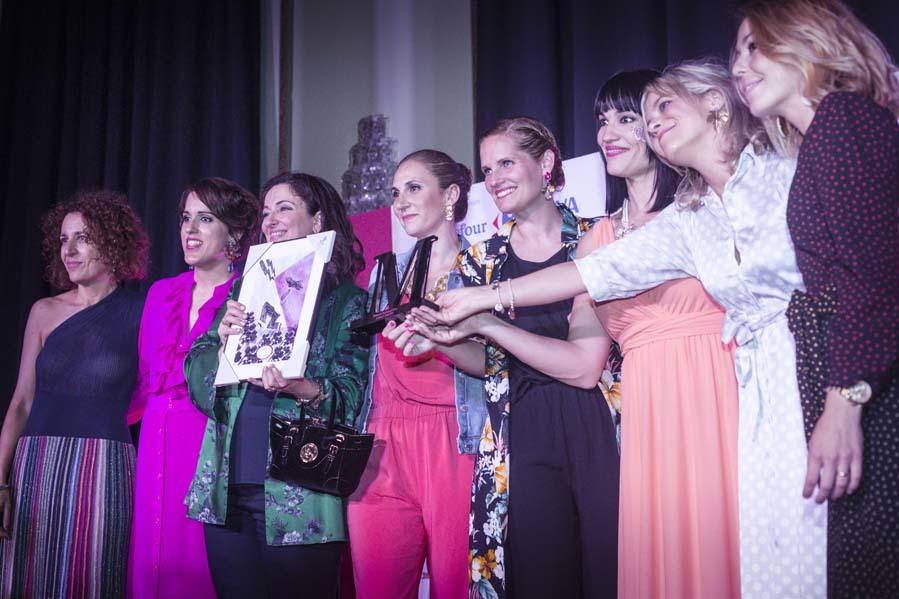 El premio Malamadre nacida para luchar, que fue para Miriam Ruiz de...