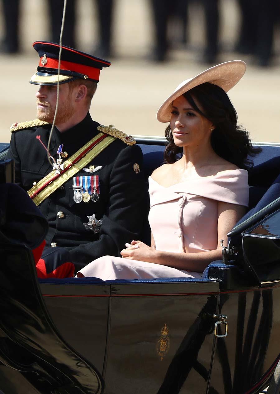 Los duques de Sussex han vuelto a Londres después de unos días...