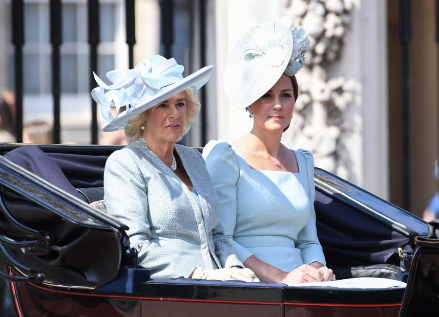 La duquesa de Cornualles y la duquesa de Cambridge parecen haberse...