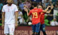 Aspas feste con Costa el gol del triunfo en Krasnodar.