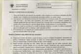 Un tuitero compartió la carta del profesor Díaz Castro y la...
