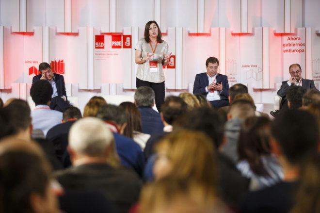 La presidenta de Baleares, Francina Armengol, en un acto en la...