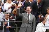Felipe VI, durante la corrida de toros de la Asociación de la Prensa...