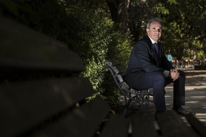 Raúl Burillo, máximo responsable de la Agencia Tributaria en...