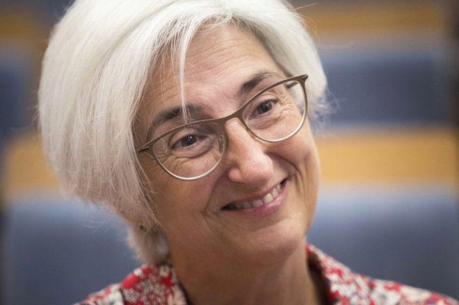 La nueva fiscal general del Estado, María José Segarra.