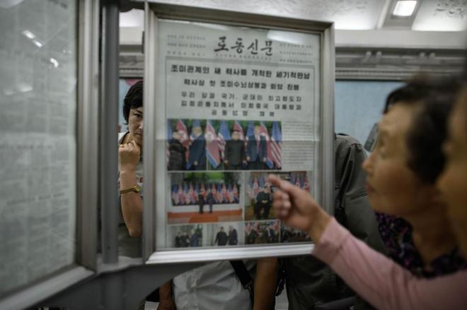 Corea del Norte presenta la cumbre con Trump como una gran victoria de Kim Jong-un