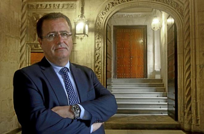 El concejal de Seguridad de Sevilla, Juan Carlos Cabrera.