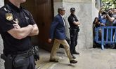 Diego Torres, a su salida de la Audiencia Provincial de Palma esta...