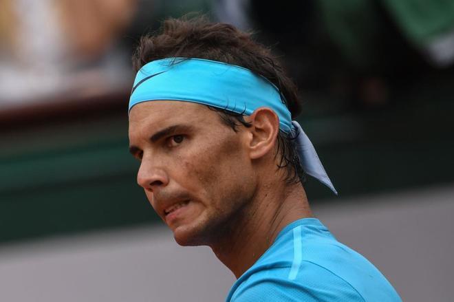 Rafael Nadal, durante la final de Roland Garros que jugó ante Dominic Thiem.