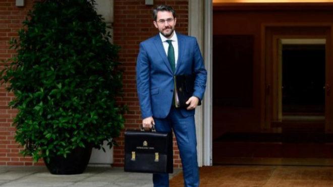 """Màxim Huerta dimite como ministro de Cultura por su fraude fiscal y dice ser víctima de """"una jauría"""""""