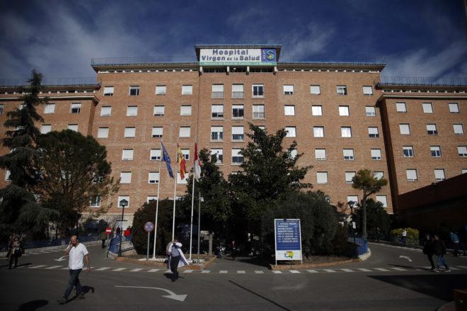 Fachada del Hospital Virgen de la Salud de Toledo.