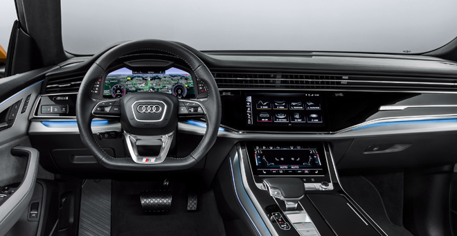 Audi Q8: el nuevo 'Rey León' de la manada