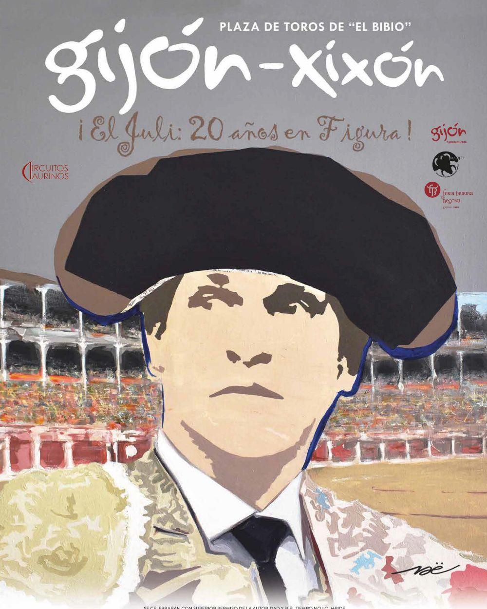 El Juli, protagonista de los carteles de una Feria de Gijón redonda