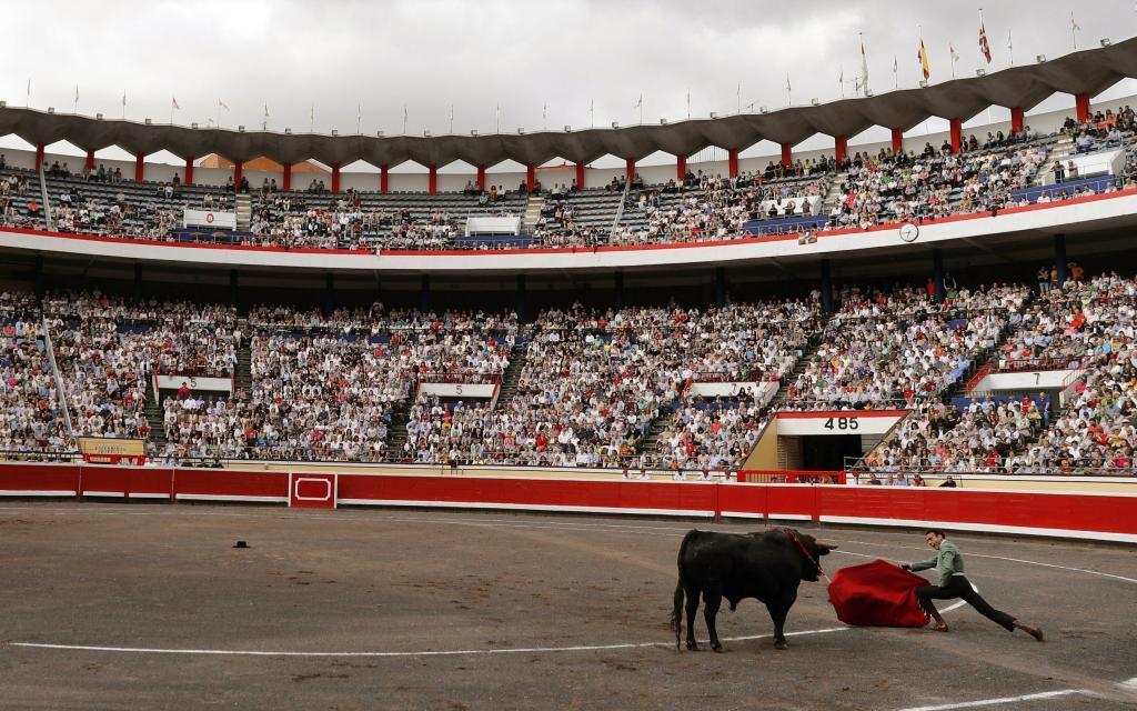 Ponce, el pasado sábado en el festival del Club Taurino de Bilbao que llenó Vista Alegre