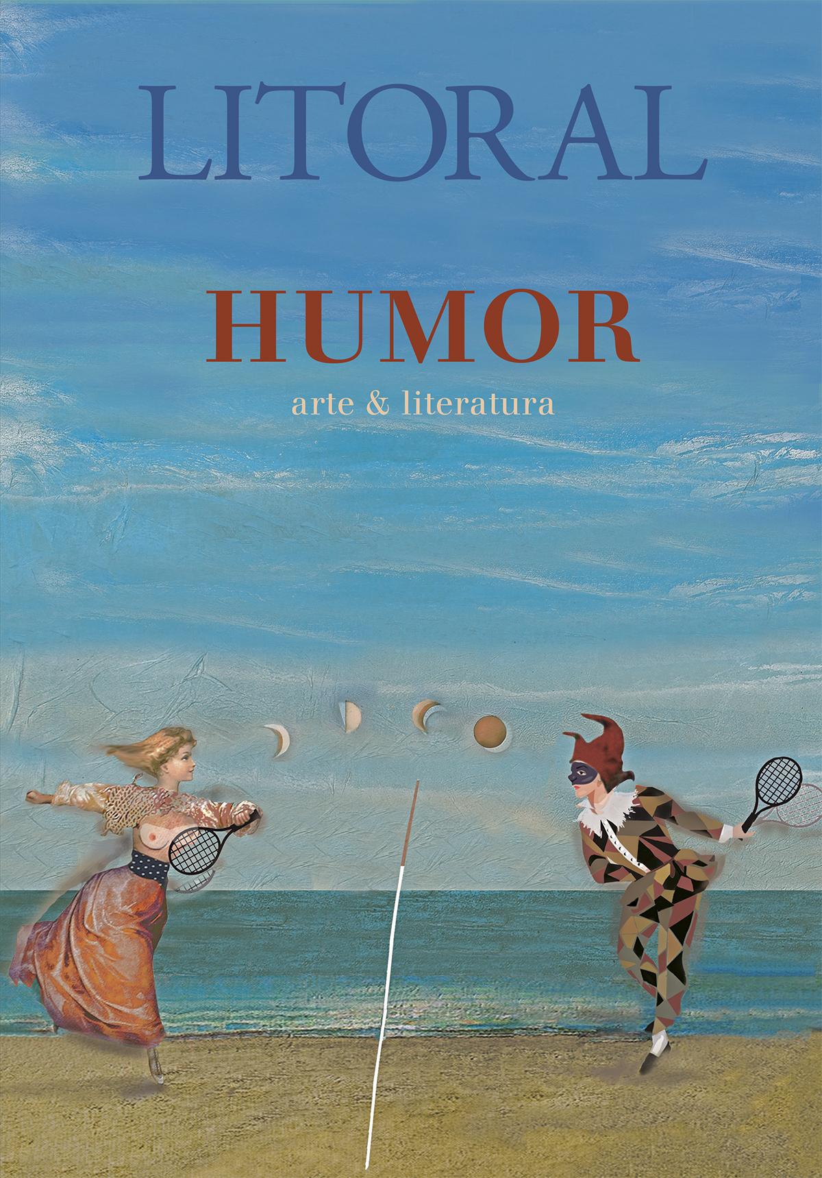 Portada del último número de la revista literaria y artística Litoral dedicada al humor.
