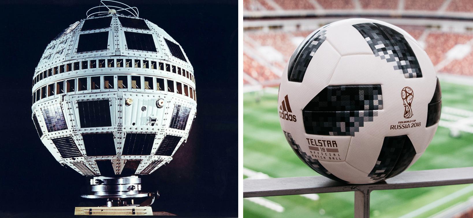 Farmacología global Hospitalidad  Los secretos de 'Telstar 18', el balón espacial con el que se juega el  Mundial de Rusia | Ciencia