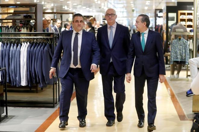 El nuevo presidente de El Corte Inglés, Jesús Nuño de la Rosa, en...
