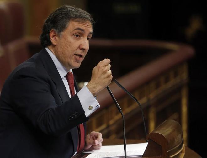 José Ramón García-Hernández, portavoz de Exteriores del PP en el...
