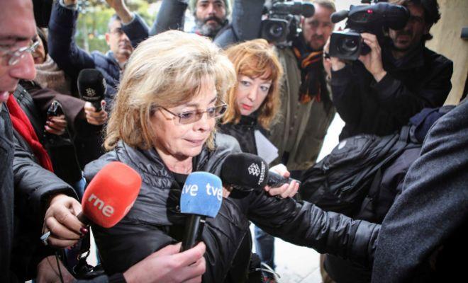 María José Alcón entra el TSJ de Valencia para declarar por el caso Taula.