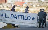 El 'Dattilo', la primera de las tres embarcaciones que componen la...