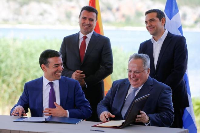 Grecia y la Antigua República Yugoslava de Macedonia (ARYM) han