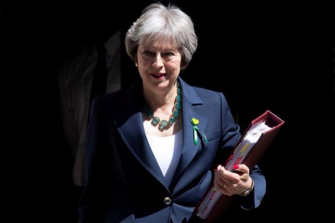 La primera ministra de Reino Unido, Theresa May, ha anunciado