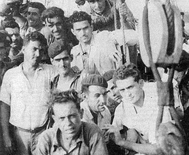 Emigrantes canarios con destino a Venezuela.