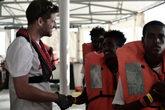 David Beversluis, el médico de Médico Sin Fronteras a bordo del...