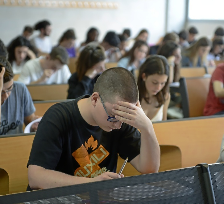 Pruebas de Acceso a la Universidad celebradas en la UIB.