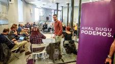 Podemos se marca el objetivo de obtener 100 concejales en Euskadi en 2019