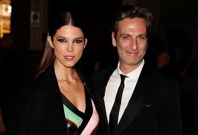 Juana Acosta y Ernesto Alterio, en su última imagen como pareja en los premios Fotogramas.