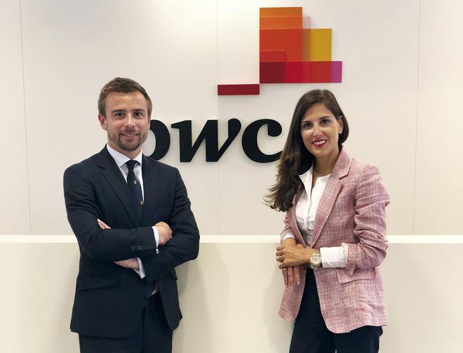 Juan Alcibar y Silvia Lacarra.