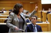 La ministra de Justicia, Dolores Delgado, y el presidente del...