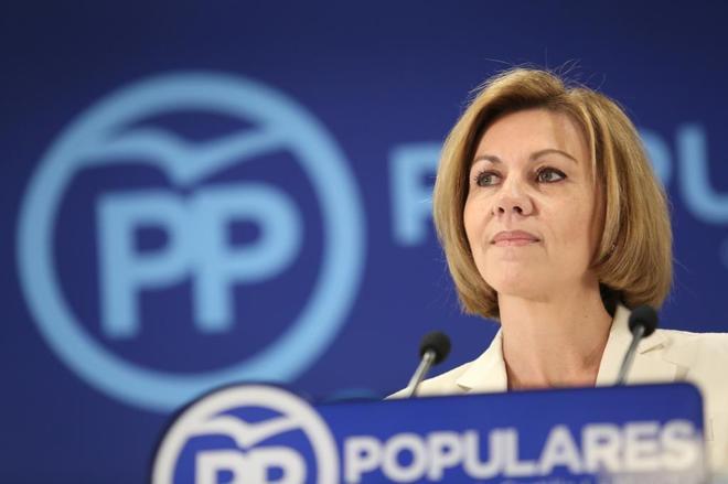 María Dolores de Cospedal, una dura fajadora para reconectar al PP con sus bases ideológicas