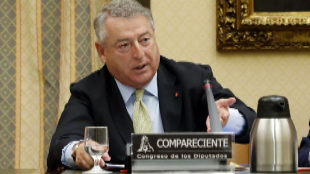 El presidente de RTVE, José Antonio Sánchez, en una comparecencia en...