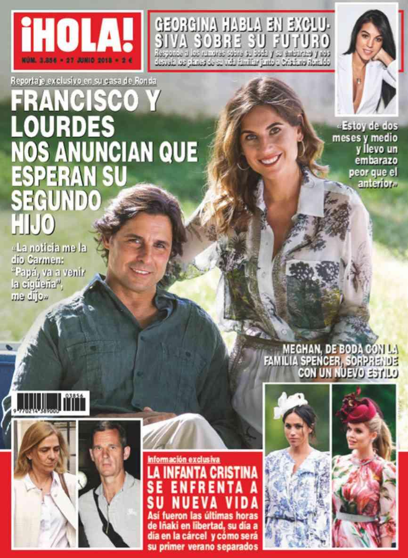 Muy ilusionados. Así se sienten Francisco Rivera y Lourdes Montes...